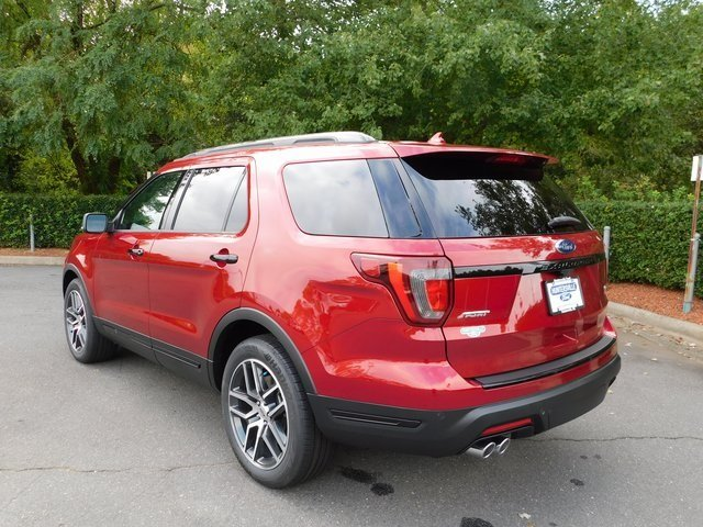 2018 Ford Explorer Sport 4 Door Automatic SUV 3.5L Engine 4X4