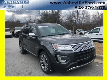 2016 Ford Explorer Platinum SUV EcoBoost 3.5L V6 GTDi DOHC 24V Twin Turbocharged Engine 4 Door Automatic 4X4