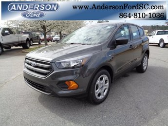 2018 Magnetic Metallic Ford Escape S 2.5L iVCT Engine Automatic FWD