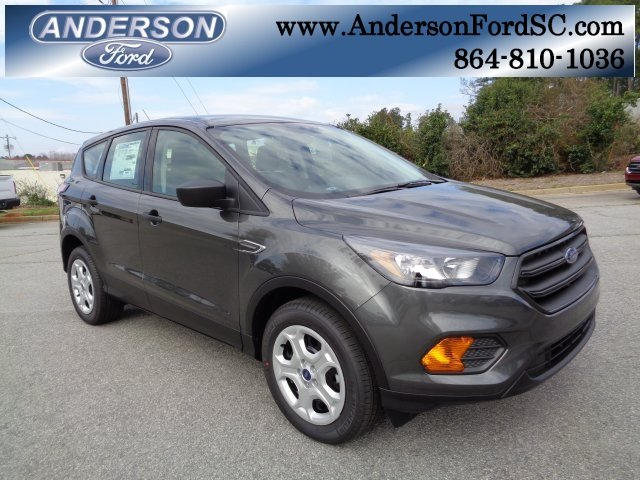 2018 Magnetic Metallic Ford Escape S 2.5L iVCT Engine Automatic SUV