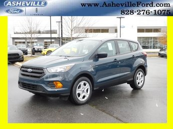 2019 Baltic Sea Green Metallic Ford Escape S 4 Door FWD 2.5L iVCT Engine