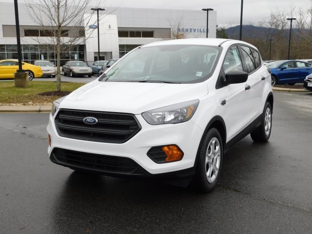 2019 Oxford White Ford Escape S SUV 2.5L iVCT Engine 4 Door FWD Automatic
