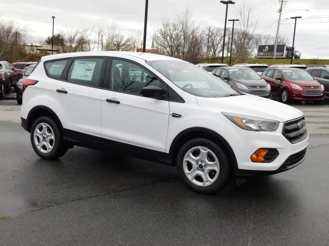 2019 Oxford White Ford Escape S Automatic 4 Door 2.5L iVCT Engine