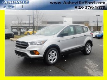 2019 Ingot Silver Metallic Ford Escape S 2.5L iVCT Engine FWD Automatic