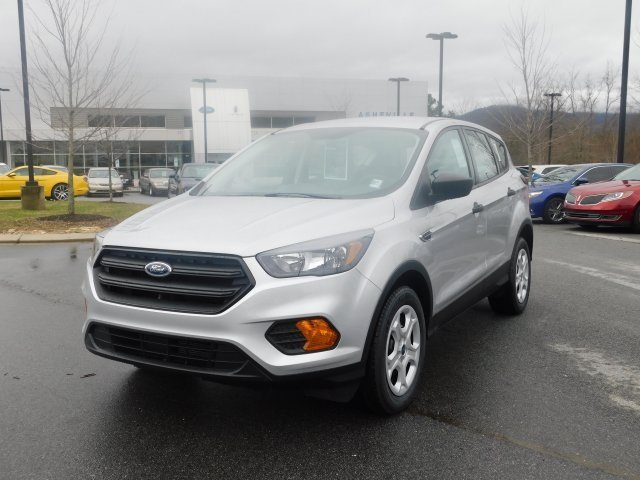 2019 Ingot Silver Metallic Ford Escape S 2.5L iVCT Engine FWD 4 Door