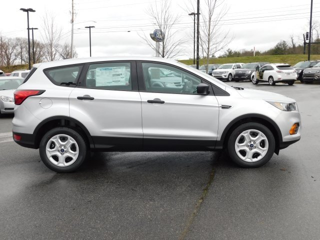 2019 Ingot Silver Metallic Ford Escape S Automatic 2.5L iVCT Engine FWD
