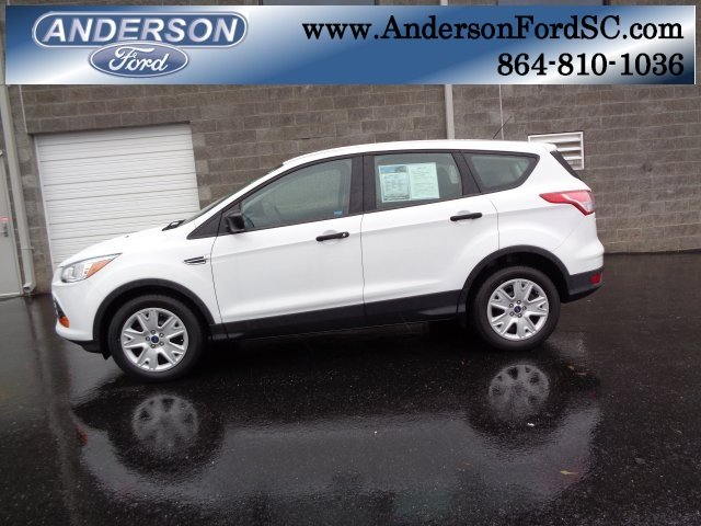 2016 Ford Escape S Duratec 2.5L I4 Engine FWD 4 Door Automatic SUV