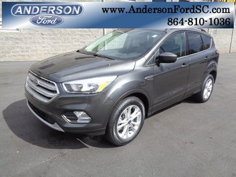 2018 Magnetic Metallic Ford Escape SE SUV Automatic EcoBoost 1.5L I4 GTDi DOHC Turbocharged VCT Engine FWD
