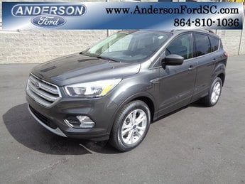 2018 Ford Escape SE EcoBoost 1.5L I4 GTDi DOHC Turbocharged VCT Engine SUV Automatic FWD 4 Door