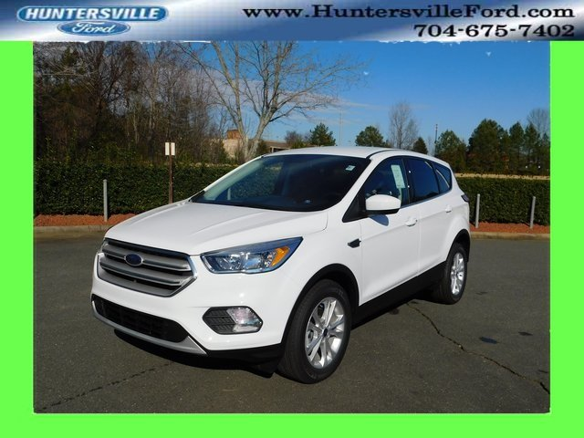 2019 Oxford White Ford Escape SE Automatic SUV 4 Door EcoBoost 1.5L I4 GTDi DOHC Turbocharged VCT Engine FWD