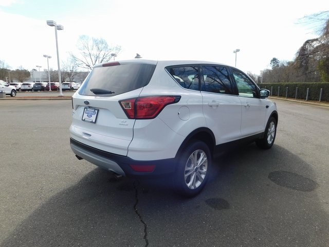 2019 Ford Escape SE 4 Door Automatic SUV FWD EcoBoost 1.5L I4 GTDi DOHC Turbocharged VCT Engine
