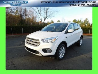 2019 Oxford White Ford Escape SE Automatic EcoBoost 1.5L I4 GTDi DOHC Turbocharged VCT Engine FWD SUV 4 Door