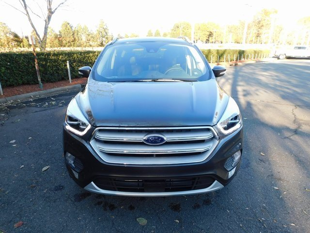 2019 Magnetic Metallic Ford Escape Titanium 4 Door Automatic FWD SUV
