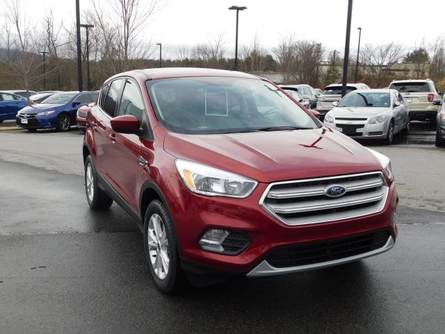 2019 Ford Escape SE SUV EcoBoost 1.5L I4 GTDi DOHC Turbocharged VCT Engine 4X4 4 Door