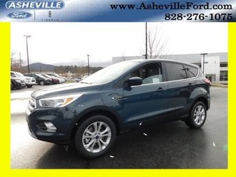 2019 Baltic Sea Green Metallic Ford Escape SE 4X4 Automatic EcoBoost 1.5L I4 GTDi DOHC Turbocharged VCT Engine 4 Door SUV