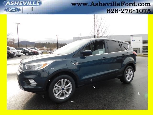 2019 Baltic Sea Green Metallic Ford Escape SE 4X4 4 Door EcoBoost 1.5L I4 GTDi DOHC Turbocharged VCT Engine Automatic