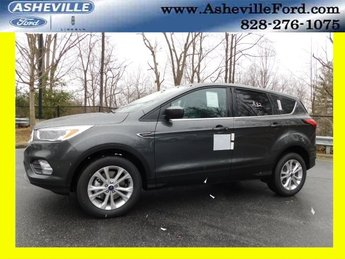 2019 Magnetic Metallic Ford Escape SE EcoBoost 1.5L I4 GTDi DOHC Turbocharged VCT Engine 4 Door 4X4 SUV