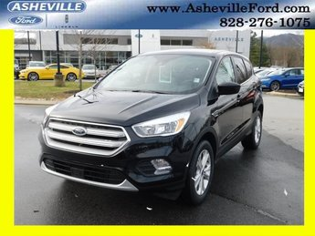 2019 Agate Black Metallic Ford Escape SE EcoBoost 1.5L I4 GTDi DOHC Turbocharged VCT Engine 4 Door Automatic SUV