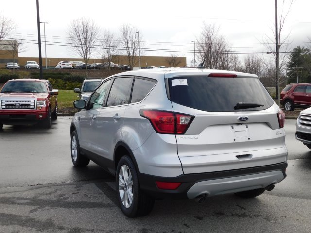 2019 Ingot Silver Metallic Ford Escape SE 4X4 SUV Automatic EcoBoost 1.5L I4 GTDi DOHC Turbocharged VCT Engine 4 Door