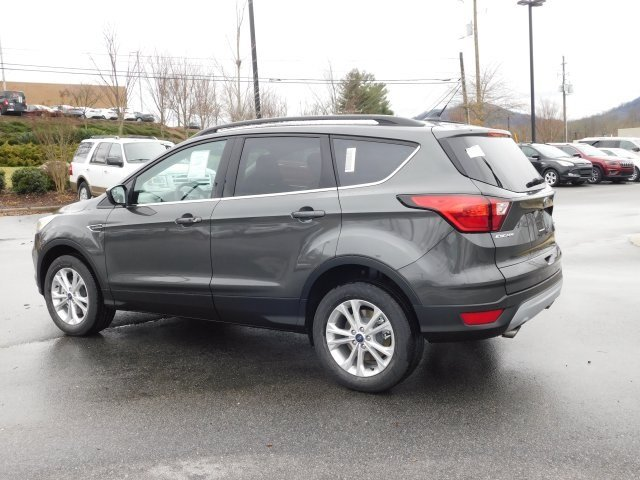 2019 Magnetic Metallic Ford Escape SEL 4X4 4 Door EcoBoost 1.5L I4 GTDi DOHC Turbocharged VCT Engine