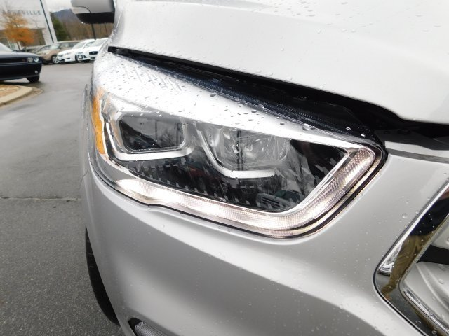 2019 Ingot Silver Metallic Ford Escape Titanium EcoBoost 2.0L I4 GTDi DOHC Turbocharged VCT Engine 4X4 Automatic