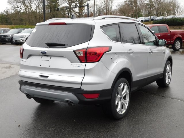 2019 Ford Escape Titanium SUV Automatic 4 Door EcoBoost 2.0L I4 GTDi DOHC Turbocharged VCT Engine 4X4
