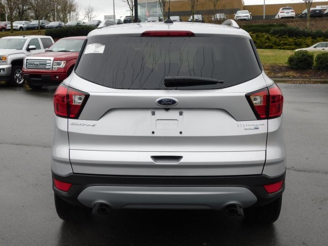 2019 Ingot Silver Metallic Ford Escape Titanium Automatic SUV 4X4 EcoBoost 2.0L I4 GTDi DOHC Turbocharged VCT Engine