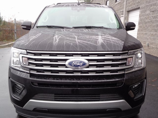 2019 Agate Black Metallic Ford Expedition Max XLT 4 Door RWD EcoBoost 3.5L V6 GTDi DOHC 24V Twin Turbocharged Engine SUV Automatic