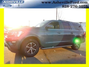 2019 Blue Metallic Ford Expedition Max XLT Automatic 4 Door 4X4 EcoBoost 3.5L V6 GTDi DOHC 24V Twin Turbocharged Engine SUV