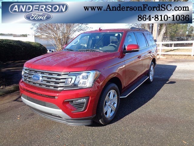 2019 Ruby Red Metallic Tinted Clearcoat Ford Expedition XLT SUV Automatic 4 Door
