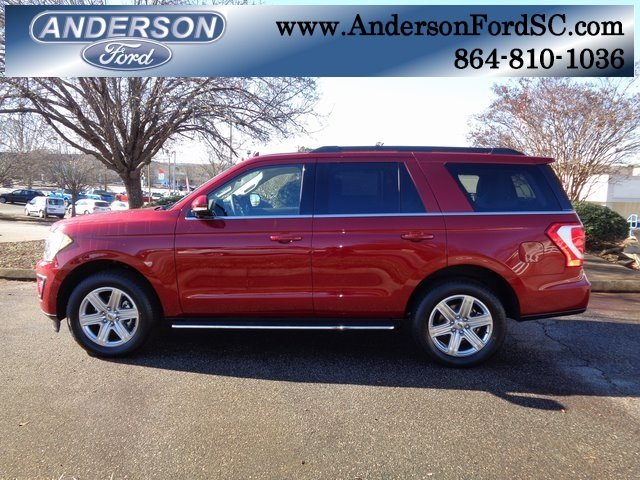 2019 Ruby Red Metallic Tinted Clearcoat Ford Expedition XLT SUV EcoBoost 3.5L V6 GTDi DOHC 24V Twin Turbocharged Engine Automatic