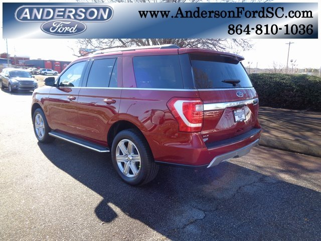 2019 Ruby Red Metallic Tinted Clearcoat Ford Expedition XLT Automatic RWD SUV 4 Door