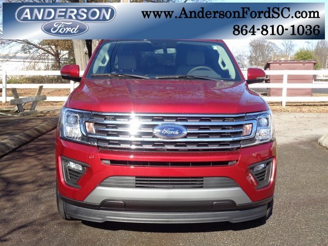 2019 Ruby Red Metallic Tinted Clearcoat Ford Expedition XLT RWD Automatic SUV