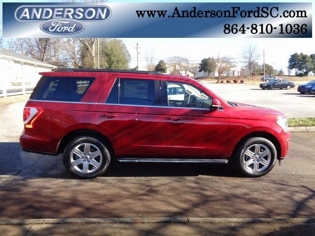 2019 Ruby Red Metallic Tinted Clearcoat Ford Expedition XLT SUV RWD Automatic
