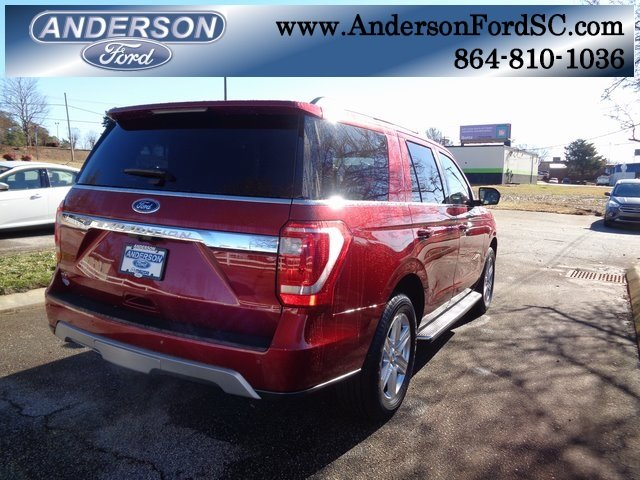 2019 Ruby Red Metallic Tinted Clearcoat Ford Expedition XLT RWD EcoBoost 3.5L V6 GTDi DOHC 24V Twin Turbocharged Engine 4 Door SUV