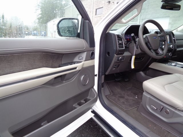 2019 White Metallic Ford Expedition Limited EcoBoost 3.5L V6 GTDi DOHC 24V Twin Turbocharged Engine SUV RWD
