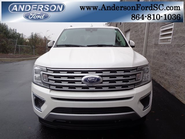 2019 White Metallic Ford Expedition Limited Automatic RWD 4 Door EcoBoost 3.5L V6 GTDi DOHC 24V Twin Turbocharged Engine