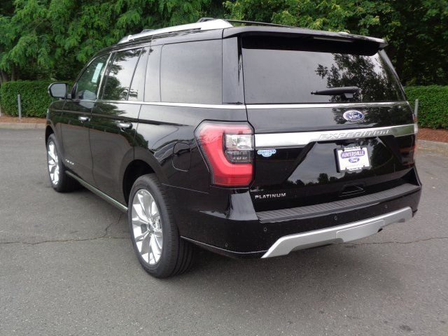 2018 Shadow Black Ford Expedition Platinum 4X4 Automatic EcoBoost 3.5L V6 GTDi DOHC 24V Twin Turbocharged Engine
