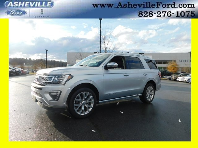 2018 Ingot Silver Metallic Ford Expedition Platinum EcoBoost 3.5L V6 GTDi DOHC 24V Twin Turbocharged Engine Automatic SUV 4 Door 4X4