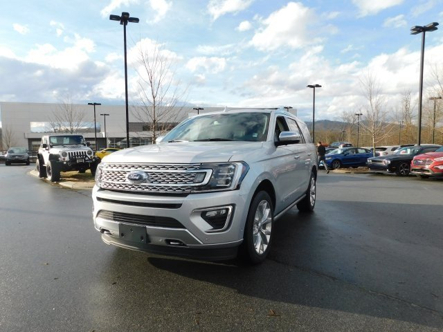 2018 Ingot Silver Metallic Ford Expedition Platinum Automatic 4 Door EcoBoost 3.5L V6 GTDi DOHC 24V Twin Turbocharged Engine