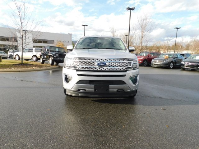 2018 Ingot Silver Metallic Ford Expedition Platinum 4X4 EcoBoost 3.5L V6 GTDi DOHC 24V Twin Turbocharged Engine 4 Door Automatic