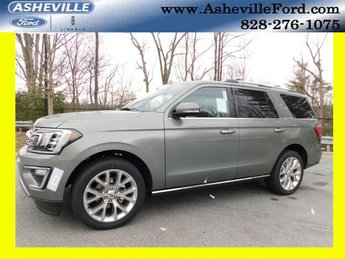 2019 Silver Spruce Metallic Ford Expedition Limited 4X4 4 Door Automatic EcoBoost 3.5L V6 GTDi DOHC 24V Twin Turbocharged Engine SUV