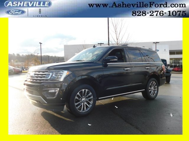 2018 Shadow Black Ford Expedition Limited SUV EcoBoost 3.5L V6 GTDi DOHC 24V Twin Turbocharged Engine Automatic 4X4 4 Door