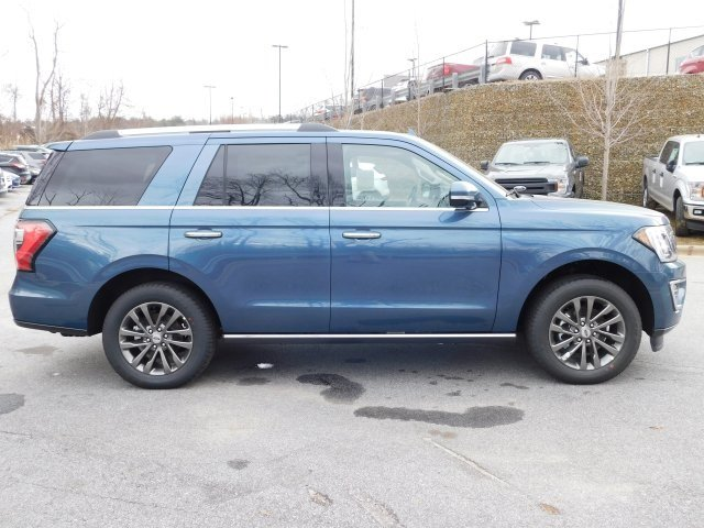 2019 Blue Metallic Ford Expedition Limited 4 Door SUV 4X4 EcoBoost 3.5L V6 GTDi DOHC 24V Twin Turbocharged Engine