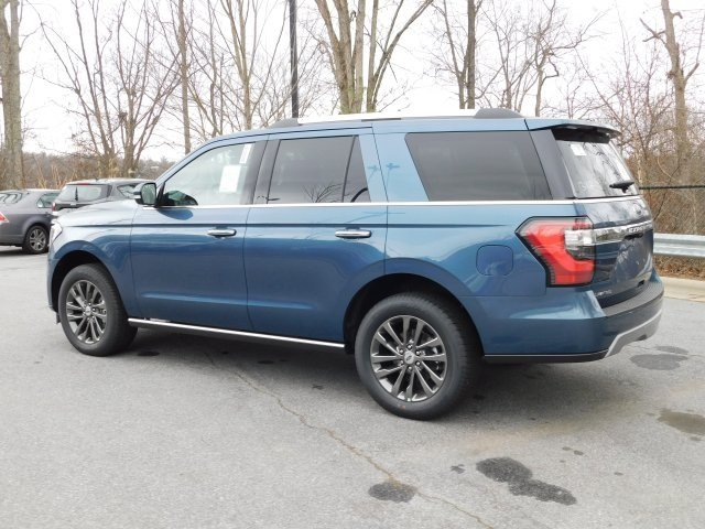 2019 Blue Metallic Ford Expedition Limited SUV 4 Door Automatic 4X4