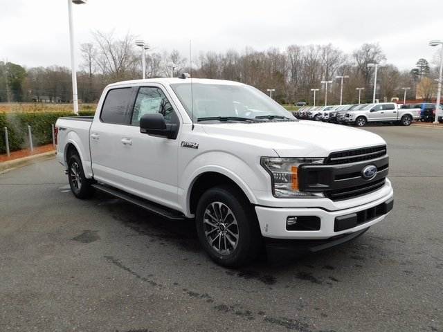 2019 Oxford White Ford F-150 XLT Automatic 4 Door RWD