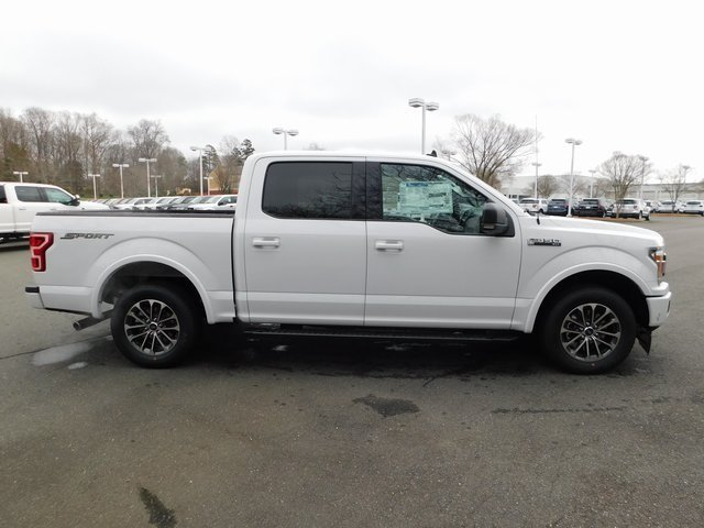 2019 Oxford White Ford F-150 XLT Truck 4 Door EcoBoost 2.7L V6 GTDi DOHC 24V Twin Turbocharged Engine RWD