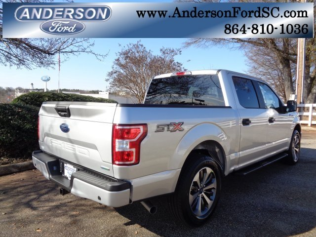 2019 Ingot Silver Metallic Ford F-150 XL 4 Door Truck EcoBoost 2.7L V6 GTDi DOHC 24V Twin Turbocharged Engine RWD Automatic