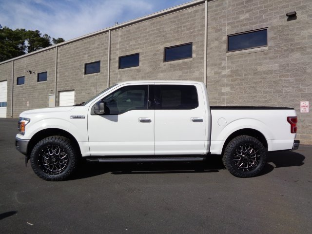 2018 Oxford White Ford F-150 XLT 4 Door RWD Automatic