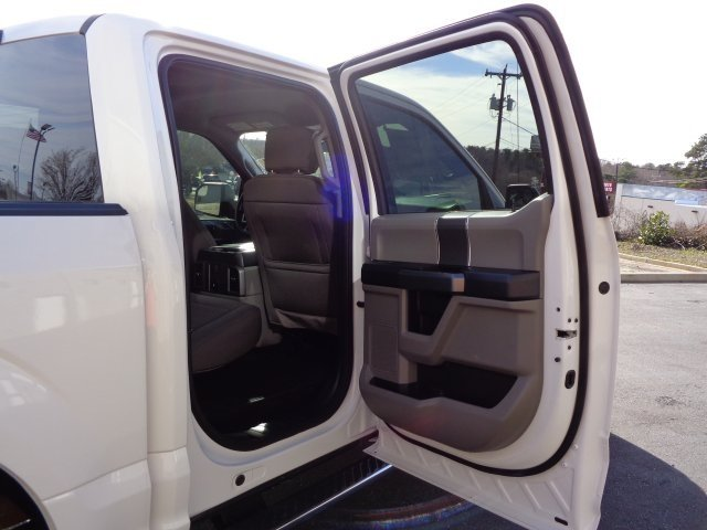 2018 Oxford White Ford F-150 XLT EcoBoost 2.7L V6 GTDi DOHC 24V Twin Turbocharged Engine Truck Automatic RWD 4 Door